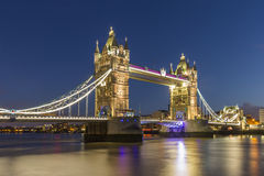 塔桥梁伦敦 免版税图库摄影