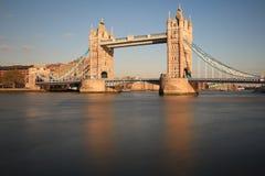 塔桥梁和市伦敦 免版税图库摄影