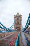 塔桥梁在伦敦,大英国 库存图片