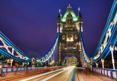 塔桥梁在伦敦,大英国 免版税库存图片