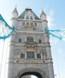 塔桥梁在伦敦-塔的门面 免版税图库摄影