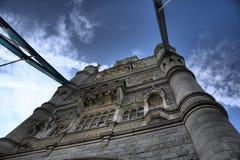 塔桥梁在伦敦 库存照片