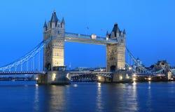 塔桥梁在伦敦 图库摄影