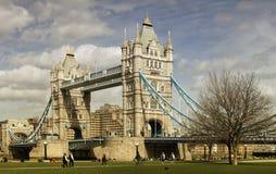 塔桥梁在伦敦 免版税图库摄影