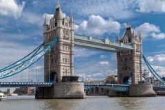 塔桥梁在伦敦 库存图片