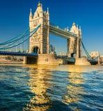 塔桥梁,伦敦。 库存照片