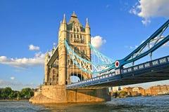 塔桥梁,伦敦。 图库摄影