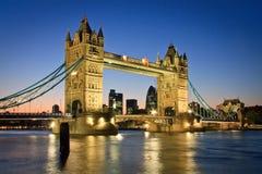 塔桥梁,伦敦。 免版税库存图片