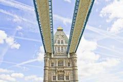 塔桥梁,伦敦,英国 库存图片