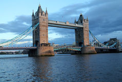 塔桥梁,伦敦,英国 免版税图库摄影