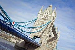 塔桥梁,伦敦 免版税图库摄影