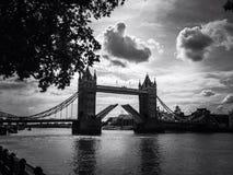 塔桥梁,伦敦 库存图片