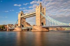 塔桥梁,伦敦 库存照片