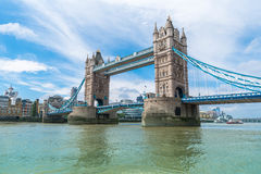 塔桥梁,伦敦 免版税库存照片