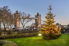 塔桥梁-伦敦英国 免版税库存照片