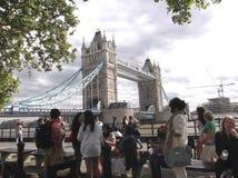 塔桥梁 库存图片