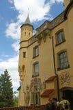 塔楼和装饰壁画 免版税库存图片