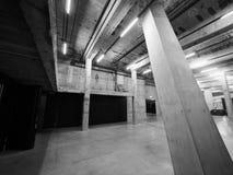 塔特现代在黑白的伦敦 库存图片