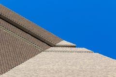 塔特现代新的大厦外部  免版税库存图片