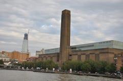 塔特现代艺术画廊在伦敦,英国 库存照片