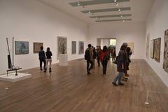 塔特现代艺术画廊 免版税库存照片
