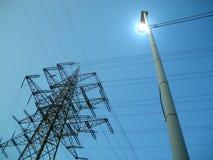 塔电压 免版税库存图片