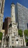 水塔的东南看法 免版税库存照片