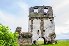 塔的废墟 库存照片