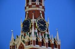 塔的时钟 库存照片