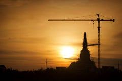 塔的建筑,泰国 免版税图库摄影
