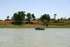 塔纳湖视图,埃塞俄比亚 库存图片