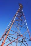 塔输电线 库存图片
