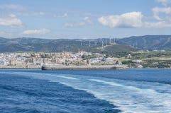 塔里法角,西班牙,安大路西亚,伊比利亚半岛,欧洲 库存照片
