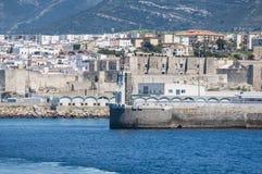 塔里法角,西班牙,安大路西亚,伊比利亚半岛,欧洲 库存图片