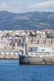 塔里法角,西班牙,安大路西亚,伊比利亚半岛,欧洲 免版税库存照片