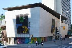 巴塔鞋子博物馆在多伦多,加拿大 免版税库存照片