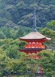 塔,京都 免版税库存图片