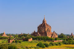 塔,在缅甸(Burmar)的Bagan 免版税图库摄影