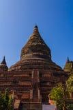 塔,在缅甸(Burmar)的Bagan 库存图片