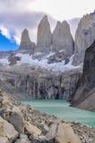 塔,托里斯del潘恩国家公园,智利 免版税库存照片