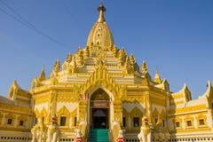 塔,缅甸的(Burmar)仰光 免版税库存照片