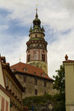 塔, ÄŒeskà ½ Krumlov,捷克 免版税库存照片