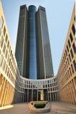 塔185企业塔在法兰克福 免版税库存照片