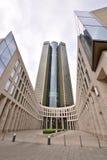 塔185在主要的法兰克福,德国 免版税库存照片