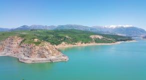 塔什干山的秀丽 免版税库存照片