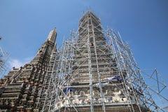 塔建筑学建设中 库存照片
