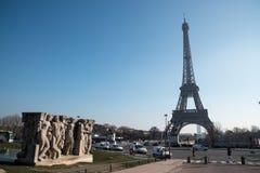 巴黎塔 免版税库存照片