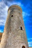 塔& x28; Bellver& x29城堡;马略卡 免版税库存照片