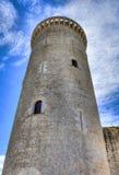 塔& x28; Bellver& x29城堡;马略卡 免版税库存图片