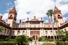 塔Flagler学院佛罗里达 库存图片